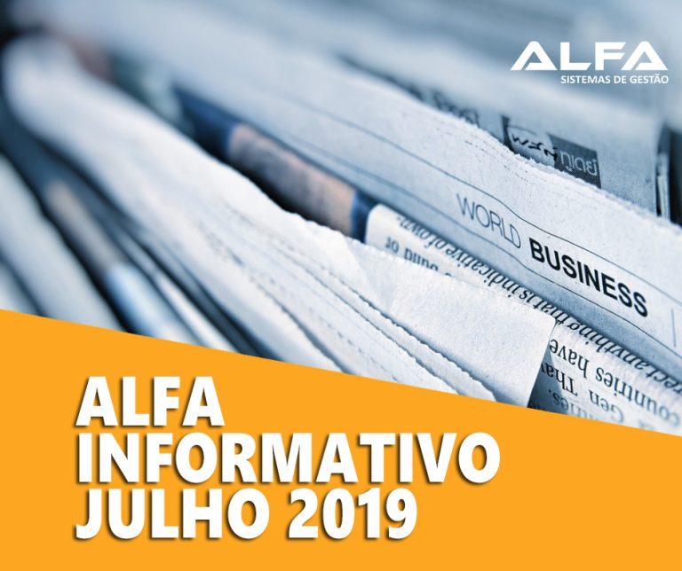 informativo de julho - alfaerp