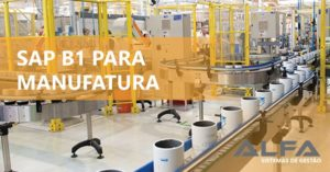 SAP Business One na manufatura