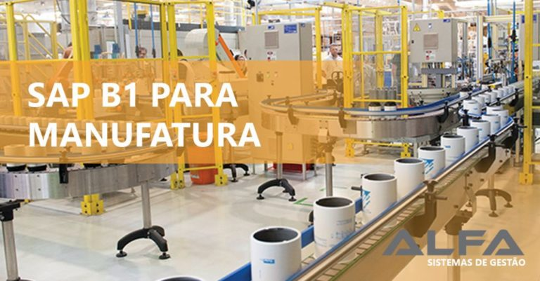 SAP Business One na manufatura