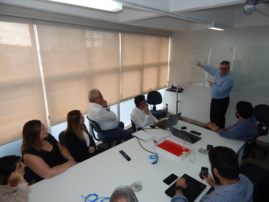 ALFA recebe Ricardo Blancas, head do SAP Business One, e inicia planejamento de 2018