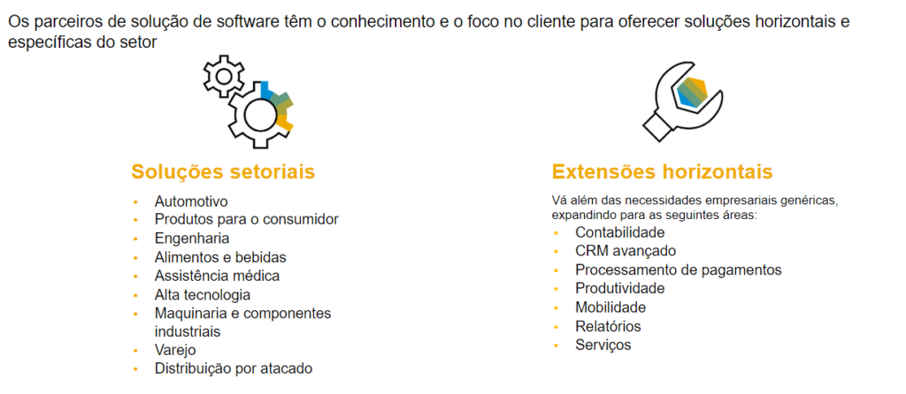 Diferenciais competitivos do SAP Business One