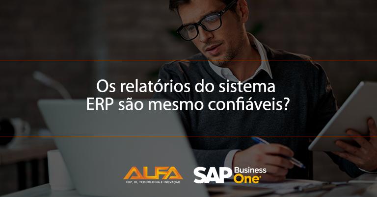 Relatórios no SAP Business One